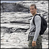 Bear Grylls on Mount Kilauea