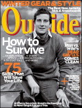 Bear Grylls on cover of Outside Magazine
