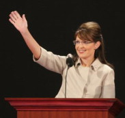 Palin addressing RNC