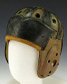 leather football helmet, circa 1930