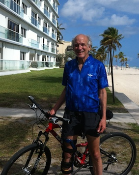 Mitchell D. Miller in Hollywood, Florida. March 2015