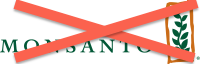 Monsanto Logo with X