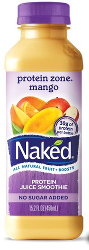 Naked Juice Protein Zone Mango
