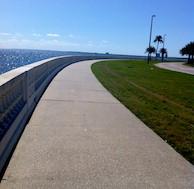 Bayshore Boulevard. Tampa, Florida