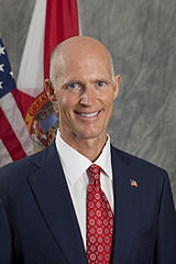 Official photo of Florida Governor Rick Scott