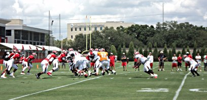 Tampa Bay Buccaneers practice July 27, 2014