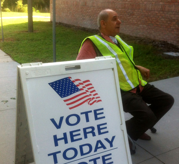 Early Voting in Tampa, Florida