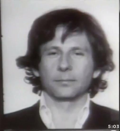Roman Polanski Mugshot. Los Angeles Police Department